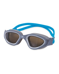 Crane Adult Blue/Grey Swim Goggles