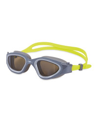 Adult Lime/Grey Reflective Goggles
