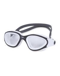 Crane Adult Black/White Swim Goggles