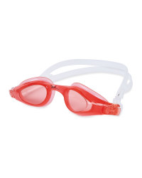 Crane Kids' Pink/White Swim Goggles
