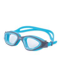Crane Adult Turquoise/Grey Goggles