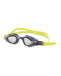 Crane Kids' Lime/Grey Swim Goggles