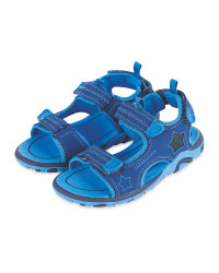 Kid's Blue Trekking Sandals
