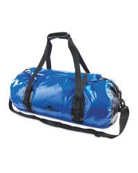 Crane Blue Dry Duffle Bag 50L