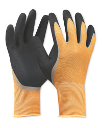 Large Orange Work/Hobby Gloves