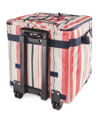 Striped Pull Along Picnic Cooler