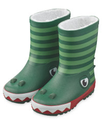 Lily & Dan Kids' Crocodile Wellies