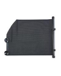 Pack of 2 Black Car Seat Blind 53cm