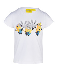 Children's White Minions Shirt