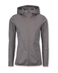 Ladies' Grey Running Jacket