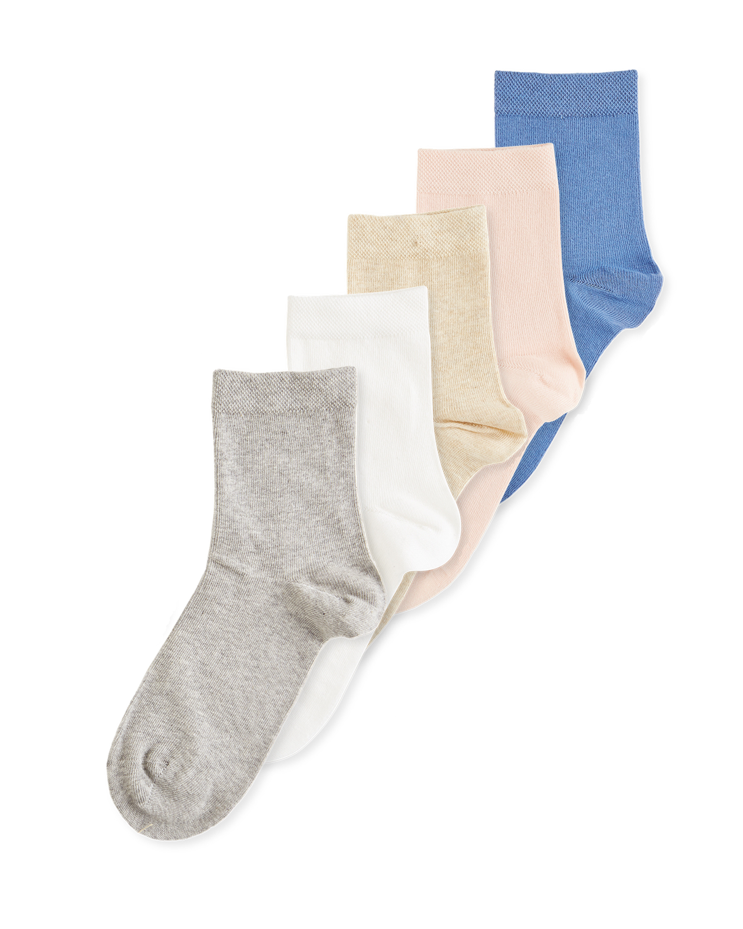 Neutral Organic Cotton Socks 5 Pack