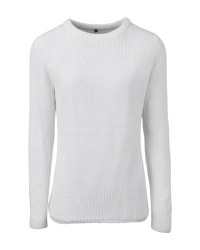 Ladies' Off-White Knitted Jumper