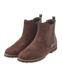 Avenue Ladies' Brown Chelsea Boots