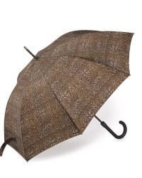 Leopard Print Walking Stick Umbrella