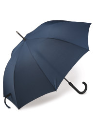 Navy Walking Stick Umbrella