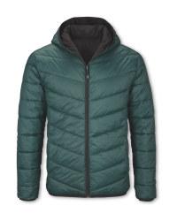Men's Green Reversible Jacket