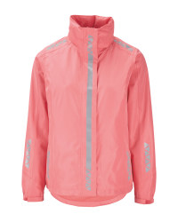 Crane Ladies' Pink Cycling Jacket