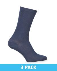 Navy Diabetic Friendly Socks 3 Pack