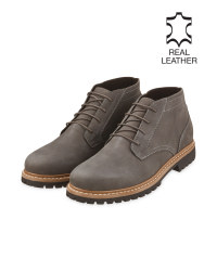 Avenue Men's Grey Desert Boots