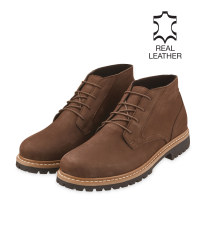 Avenue Men's Brown Desert Boots