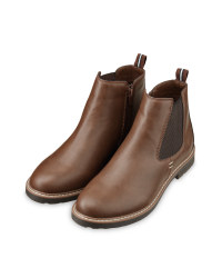 Avenue Men's Brown Chelsea Boots