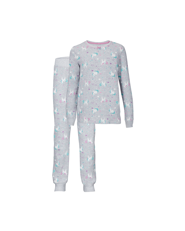 Kids' Organic Grey Horses Pyjamas