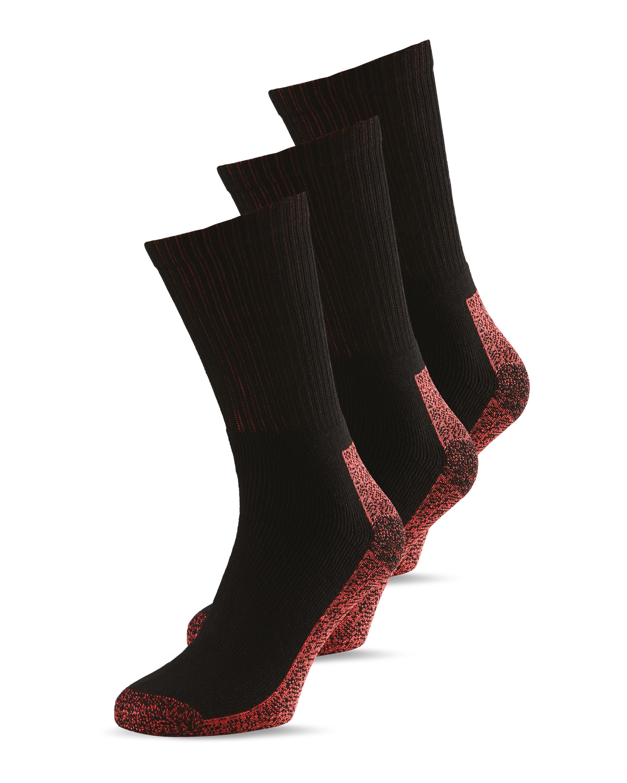 Dickies Men's Antibac Socks 3 Pack