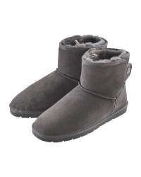 Avenue Ladies' Grey Lambskin Boots