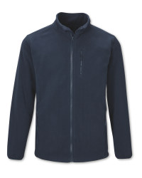 Workwear Men's Navy Fleece Jacket