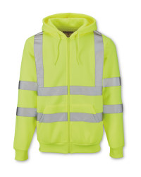 Men's Hi-Vis Zip-Through Hoody