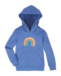 Lily & Dan Infants' Rainbow Hoody