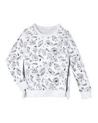 Lily & Dan Infants' Monster Sweater
