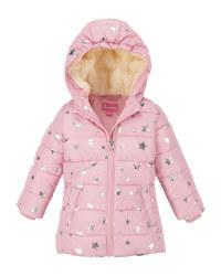 Pink Star Infants' Winter Jacket