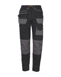 Men's Black/Grey Holster Trouser