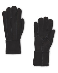 Ladies' Black Lambskin Gloves