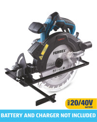 Ferrex 40V Cordless Circular Saw