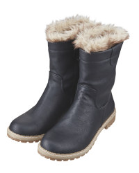 Avenue Ladies' Black Snug Boots