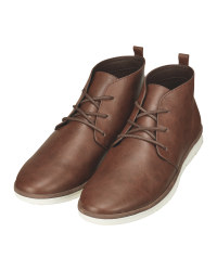 Avenue Men's Brown Chukka Boots