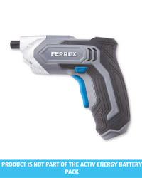 Grey 3.6V Cordless Screwdriver