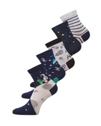 Space Children's Socks 5 Pack