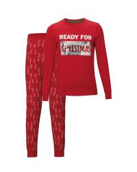 Kids' Xmas/Santa Sequin Pyjamas