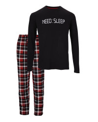 Avenue Men's Need Sleep Pyjamas