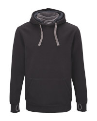 Crane Men's Black Fishing Hoody
