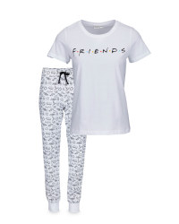 Ladies' Friends Motif Pyjamas