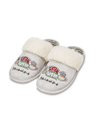 Ladies' Grey Friends Slippers