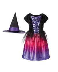 Kids' Witch Halloween Costume