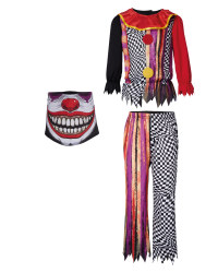 Kids' Clown Halloween Costume
