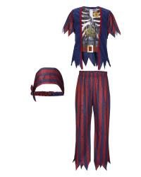 Kids' Pirate Halloween Costume