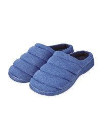 Avenue Men's Blue Padded Mules