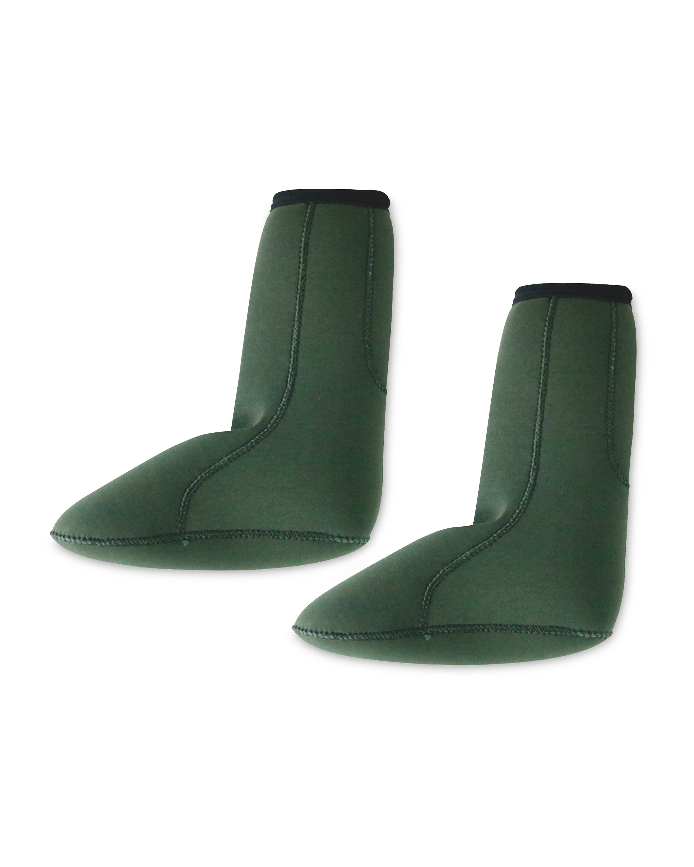 Crane Green Fishing Socks